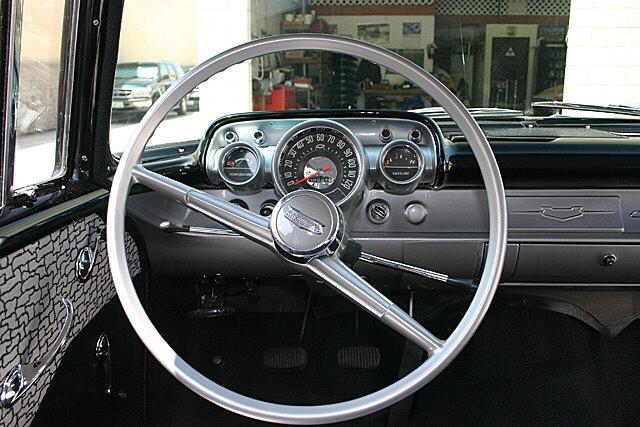 57 Chevy 150 Steering Wheel Trifive Com 1955 Chevy 1956
