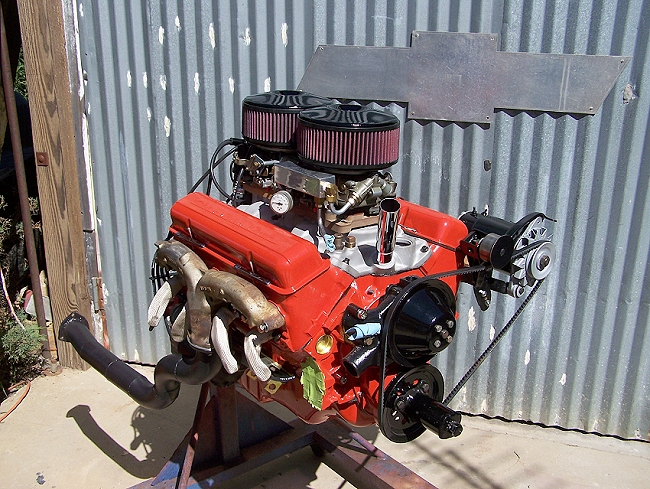57 Chevy Black Widow Completed Engine